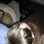 im Auto mit Paul und Max